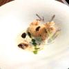 ハミルトン アール - 料理写真:鮟鱇 新玉葱のヴルーテと春菊、フキノトウ