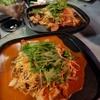 よし富 - 料理写真:お鍋は、暑いからホルモンみそ焼き