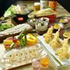 神楽坂 久露葉亭 - 料理写真:はしりの鱧を小鍋で愉しむ飲み放題宴会コース