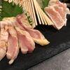 もつ鍋 亀八 - 料理写真:但馬地鶏お造り