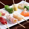 創作串揚げ つだ - 料理写真:旬の魚介や新鮮な野菜を使ったオリジナルの串揚げ