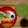 京 聖護院 早起亭うどん - 料理写真:冷やし抹茶そば