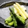 北○ - 料理写真:【GW限定】グリーンとホワイト、二種アスパラのゆであげ盛合せ 780円
