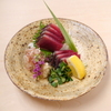 そば会席 立会川 吉田家 - 料理写真:鰹の土佐造り