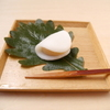 そば会席 立会川 吉田家 - 料理写真:白みそ餡の柏餅