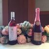 シャトーレストラン ナパ・バレー - ドリンク写真:女性に人気の巨峰で作ったロゼワインとスパークリング。甘くて飲み口軽いのが特徴。