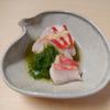 そば会席 立会川 吉田家 - 料理写真:金目鯛一夜干し緑酢がけ