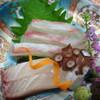 人丸花壇 - 料理写真:お造り 鯛 ハマチ 烏賊 蛸