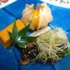 人丸花壇 - 料理写真:焼物 いさぎ胡麻幽庵焼