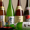 オイスターダイニング せるふぃっしゅ - ドリンク写真:秋田の地酒を中心とした種類豊富なお酒