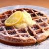 Vinefru TOKYO - 料理写真:ワッフルパンケーキ   自家製ホイップバターとレモンビネガー添え