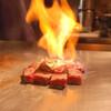 和肴 鉄板 アキラ - 料理写真:伊予和牛ロースステーキ