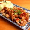和肴 鉄板 アキラ - 料理写真:とり皮今治焼き