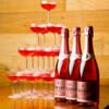 大衆肉バル 7+3 - ドリンク写真:シャンパンタワー