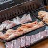 浜焼太郎 - 料理写真:海鮮のみならずお肉も♪ヤゲン・せせり・皮・ハラミ等