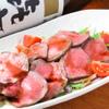 食楽苑 金魚 - 料理写真:牛タンフェア ローストビーフ バルサミコソース