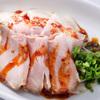 """自家製麺 魚担々麺・陳麻婆豆腐 """"dan dan noodles"""" - 料理写真:チャーシュー盛"""