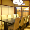 神楽坂おいしんぼ はなれ - 内観写真:テーブル個室で寛ぎのお食事