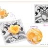 Q-pot CAFE. - 料理写真:エターナルムーンアーティクルマカロンのアクセサリーをイメージしたケーキ。レモンの爽やかなクリームにマンゴーやパイナップルなどのフルーツを添えて、夏でもおいしいすっきりとした味わいに。エターナルセーラームーンのコスチュームを大胆にデザインした豪華なプレート付き!