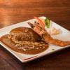 キッチン ハセガワ - 料理写真:海老フライハンバーグ
