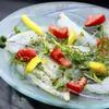 キタバル - 料理写真:【8月のSPECIAL MENU】全国各地より 本日の白身魚のカルパッチョ 780円
