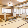 博多水たき元祖 水月 - 内観写真:一階お座敷席12~16名様で貸切可