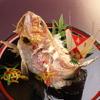 あつた辨天 - 料理写真:お食い初め膳に付く尾頭付き鯛塩焼き
