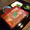 うおさだ - 料理写真:200gのステーキ重です。