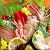 魚酒場ピン - 料理写真:刺身盛りは、7点、㍝、3点毎日入荷の鮮魚が並びます。