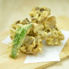 神楽坂 久露葉亭 - 料理写真:秋ならではの風味と食感「舞茸の天ぷら」
