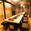 焼肉 銀座 - 内観写真:仕切りを外して使うことで、個室の大きさの調整が可能