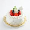 バイカル - その他写真:生クリーム フルーツショートケーキ