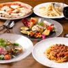 Edy's Bar - 料理写真:前菜盛り合わせ、ポテト、ピザ、パスタ、オーブン焼き