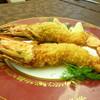 ホテルオークラ レストラン ニホンバシ - 料理写真:有頭海老のフライ(ビジネスランチA)