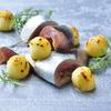 ラヴァンドール - 料理写真:アップルビネガーで〆た秋刀魚