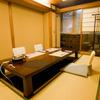 吉澤 - 内観写真:静寂に包まれた懐石個室。ゆっくり時間が流れています。