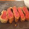 ちょっぺん - 料理写真:宮崎県産黒毛和牛の希少部位イチボ使用の牛カツ