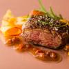 リストランテ・オステリア - 料理写真:鴨胸肉のグリル スパイス風味のバルサミコソース