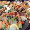 ちょっぺん - 料理写真:刺身、やきとり、おでんが入ったちょっぺんコース