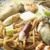 鶴橋風月 - 料理写真:◆冬限定◆「海鮮塩バター焼きそば」かき、いか、えび入りの海鮮たっぷり!塩バター焼きそば