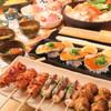 炭火焼鳥しげ - 料理写真:忘年会にオススメ!名物うなじ串を含む極上焼鳥と鍋のコース 飲放付4000円~
