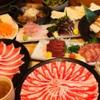 鹿児島黒豚しゃぶしゃぶ あじと - 料理写真:1番人気!飲み放題付き¥6000コース