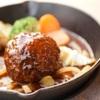 舞洲キッチン - 料理写真:自家製手ごねハンバーグ 1,480円