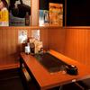 粉もん・鉄板焼 てんてん - 内観写真:掘りごたつ&半個室で気兼ねなく羽根を伸ばせる心地よい空間
