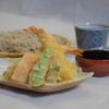 紗羅餐 - 料理写真:天婦羅と二八蕎麦