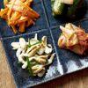 まんぷく - 料理写真:キムチとナムルの盛り合わせ