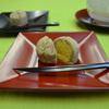 清月堂 - 料理写真:当店自慢の「おとし文」黄身餡の濃厚な香りとほろほろとした食感がクセになります。