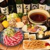 魚のてっぺん - 料理写真:鴨しゃぶ鍋コース