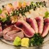 のぉてぃ 和飲 - 料理写真:阿波尾鶏のタタキ四点盛り合わせ