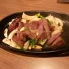 雄 - 料理写真:神戸牛ガーリックステーキ